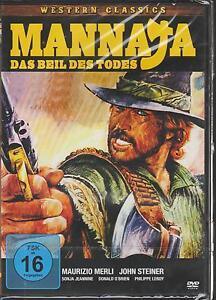 DVD-Mannaja-Das-Beil-des-Todes-1977-NEU-amp-OVP-Italo-Western