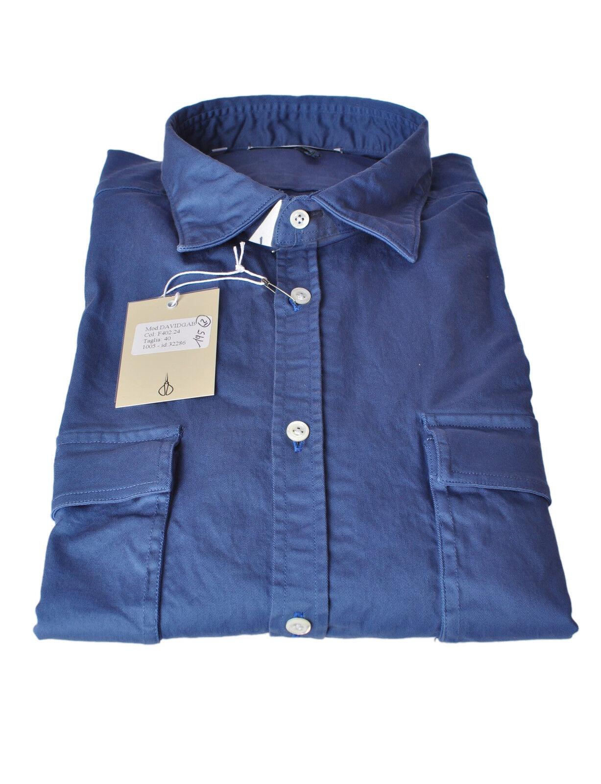 Aglini  -  Camisas - hombre - Azul - 258927A184635