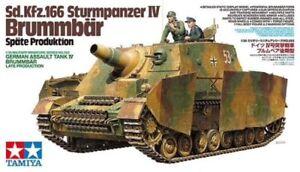 Tamiya 1:35 Kit Carro Armato Sd.kfz.166 Réservoir d'assaut Iv Brummbar Art. 35353