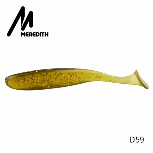MEREDITH Artificial Fishing Lure 50mm-130mm Shiner Silicon Wobblers Carp Baits