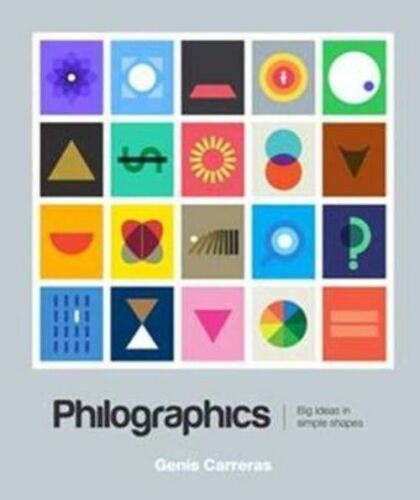 1 of 1 - Philographics: Big Ideas in Simple Shapes by Carreras, Genis -Paperback