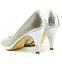 miniatura 8 - Para mujeres Zapatos Tacón Gatito Peep Toe Sandalias Diamante Fiesta Damas Boda Tribunal UK