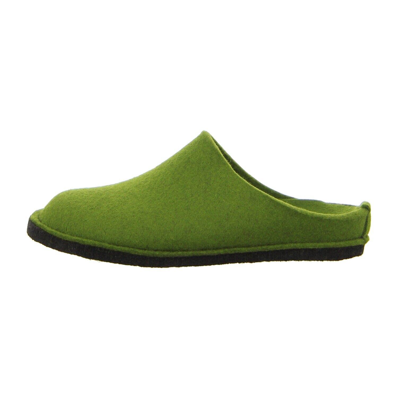 Haflinger Schuhe Hausschuh Flair Soft 311010 36 grasgrün (grün) NEU