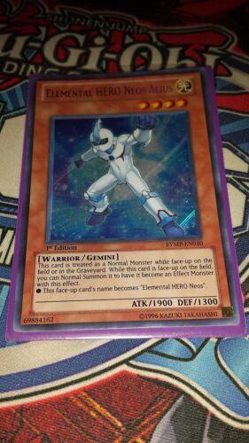 M//NM Yugioh Secret Rare Elemental HERO Neos Alius RYMP-EN010 1st Edition