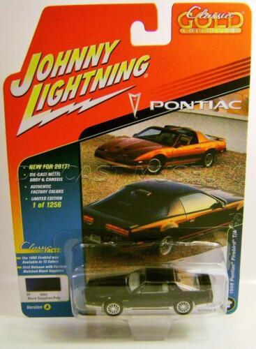 1986 /'86 PONTIAC FIREBIRD TRANS AM T//A CLASSIC GOLD JOHNNY LIGHTNING DIECAST