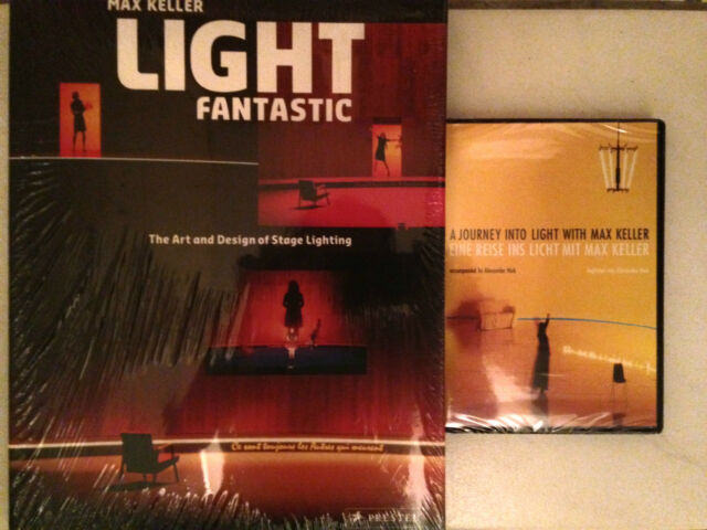 Book: Light fantastic + DVD: A journey intro light with  Max Keller