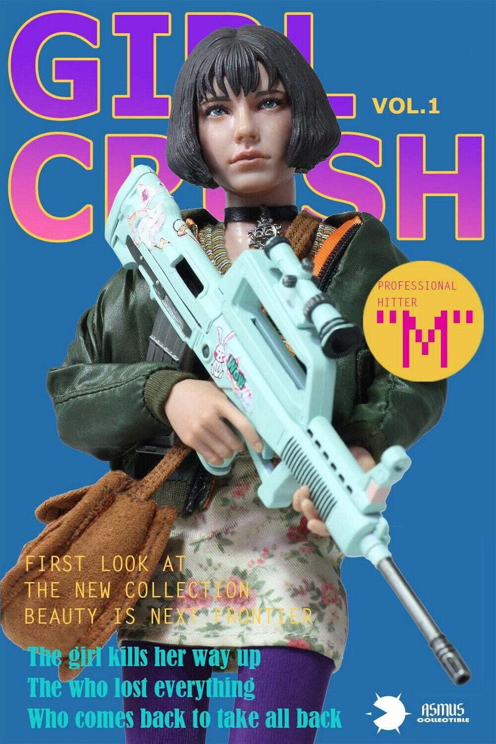 1 6 ASMUS Juguetes Girl Crush Matilda desde el Profesional-Hembra Asesino Nuevo