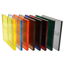 Acrylic Perspex® Sheet Genuine Transparent See Through Coloured Cast Sheets A4