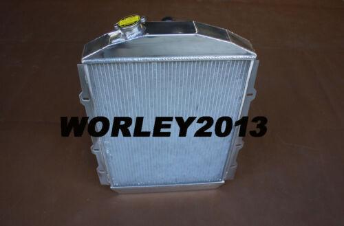 Aluminum radiator for CHEVY HOT STREET ROD 350 V8 1938 manual