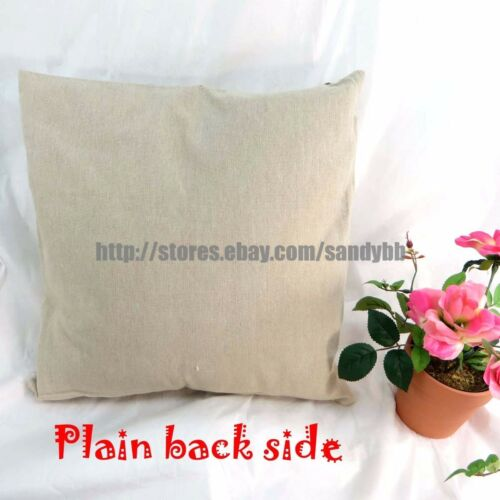 US Seller-4pcs inexpensive pillow cases cushion covers hydrangea  flower