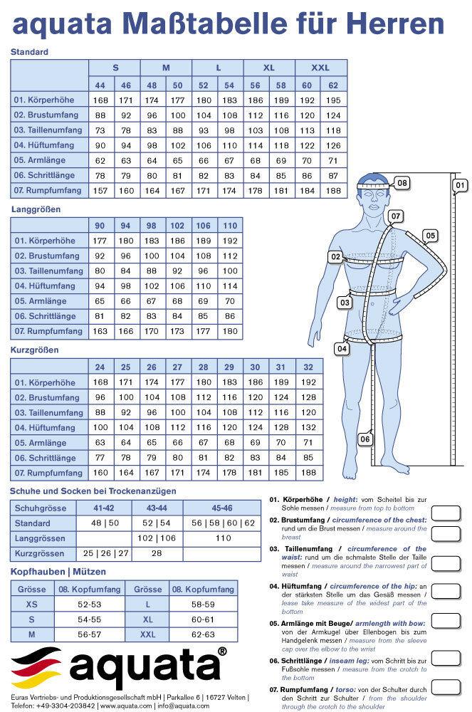 Lycra Unterzieher- Unterzieher- Unterzieher- AquataUnderall 2 Unterzieher für Trockentauchanzug Aquata b22593