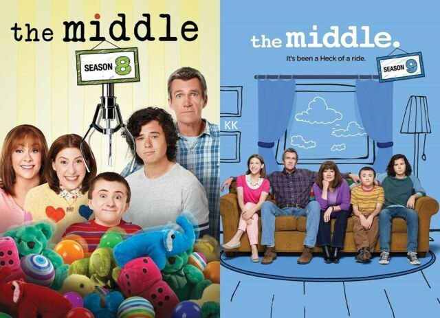 The Middle Season 8 + 9 Series Eight and & Nine New Region & DVD