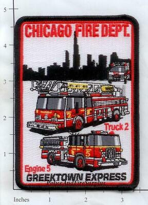 Illinois Chicago Engine 108 Truck 23 Ambulance 47 District 2 IL Fire Dept