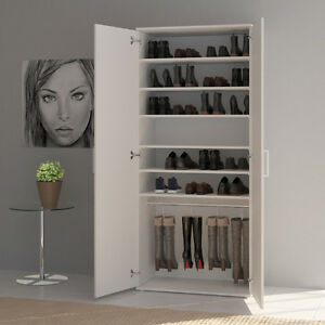 scarpiera mobiletto portascarpe armadio a muro armadietto per ...