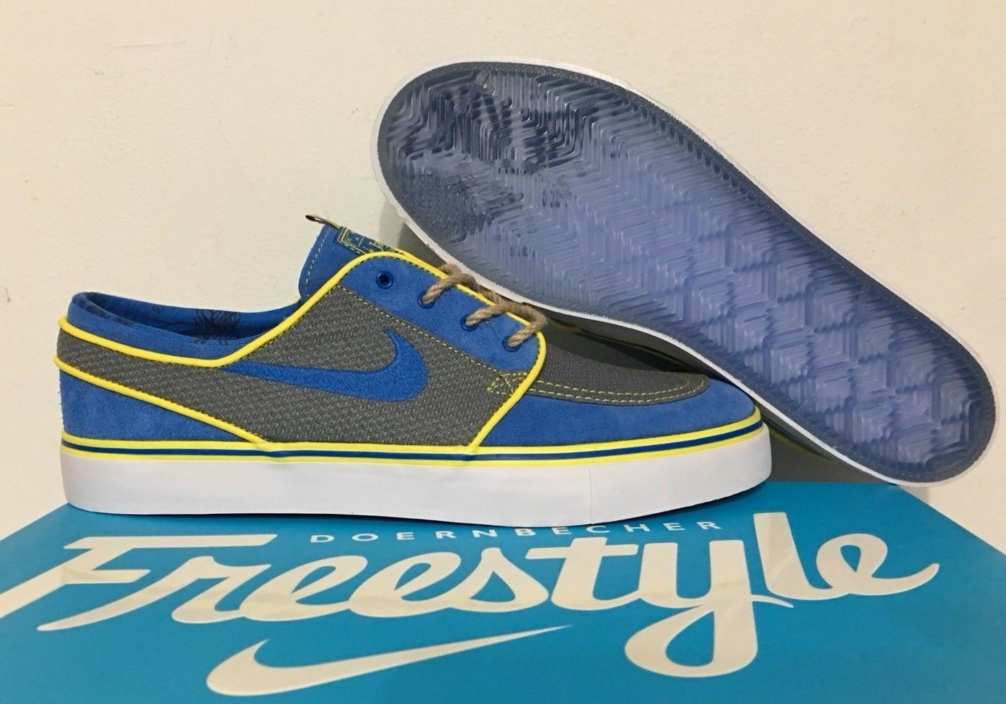 Nike Zoom Stephan Janowski DB Doernbecher  Tylan Hibbard   Blue SZ 10 AH7188-470