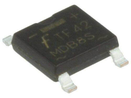 10x MDB8S Bridge rectifier 800V 1A Micro DIP FAIRCHILD SEMICONDUCTOR