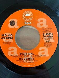 "Redbone - Suzi Girl // 7"" - US-Pressing 1974 - Promo Copy - TOP"