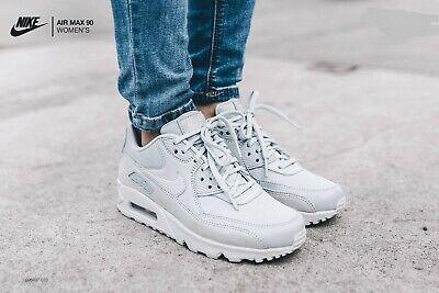 Nike Air Max 90 PRM Pure PlatinumPure Platinum White Wmn Sz 8.5 896497 010 | eBay