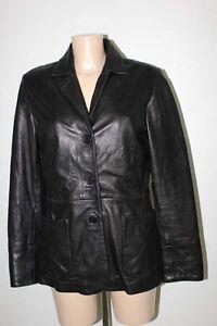 Cuir M Cintree Ebay 38 Veste Noir Kiabi T38 81qF5c