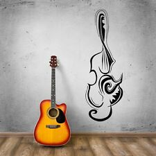 Wall Stickers Vinyl Decal Music Abstract Musical Instruments Room Decor (ig1800)
