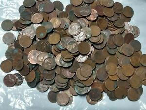 800-WHEAT-PENNY-BAG-OLD-US-LINCOLN-CENT-COINS-P-D-S-1910-1958