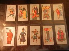 1926 Cavanders  ANCIENT CHINA  Chinese complete set 25 Tobacco Cigarette cards.