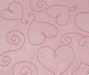 Pink-Suede-Heart-12-034-X12-034-Post-Bound-Scrapbook-Album-Crafty-Koala
