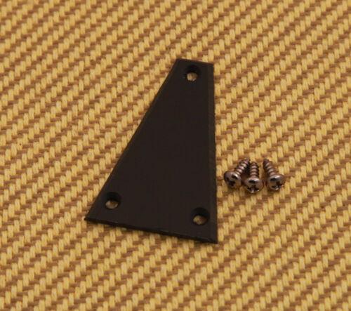 TC-BT 1-Ply Black Triangle Guitar Truss Rod Cover