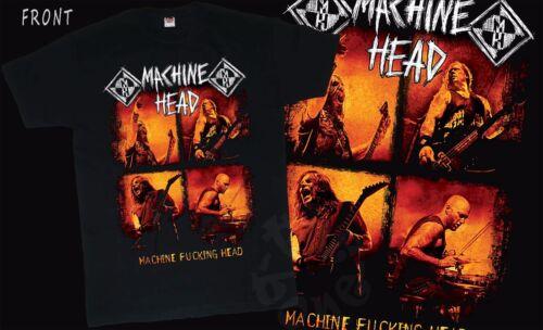 MACHINE HEAD T/_shirt-SIZES:S to 6XL American heavy metal band