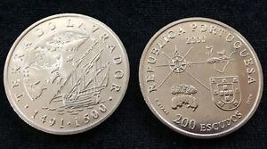 PORTUGAL-200-ESCUDOS-2000-TERRA-DO-LAVRADOR-KM-728-COIN-UNC