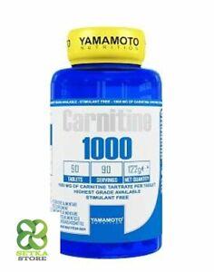 Yamamoto Nutrition Carnitine 1000 integratore alimentare di Carnitina - 90 Comp