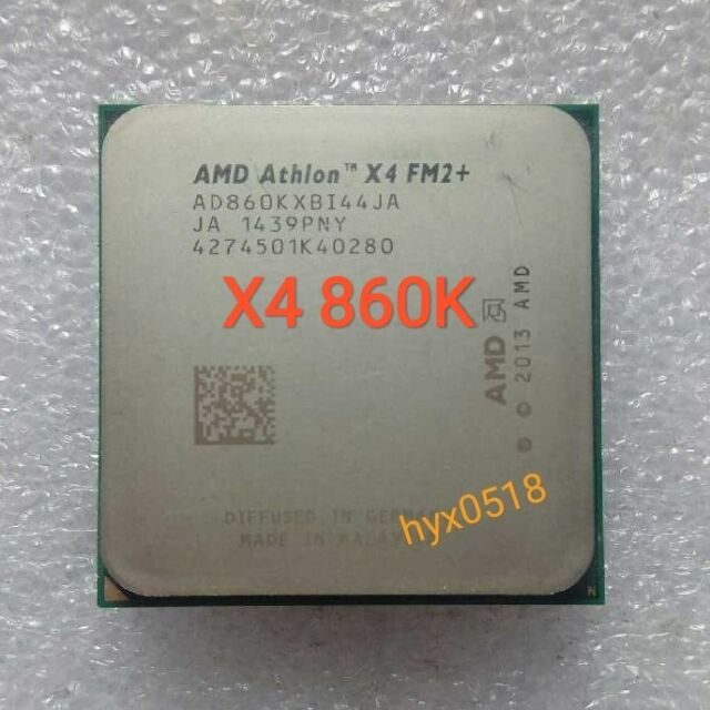 AMD Athlon X4 860K 3.7GHz (AD860KXBI44JA) Processor Socket FM2+64BIT CPU Tested