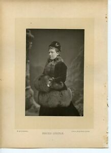 Vintage-Cabinet-Card-by-W-amp-D-Downey-Princess-Christian-of-Schleswig-Holstein