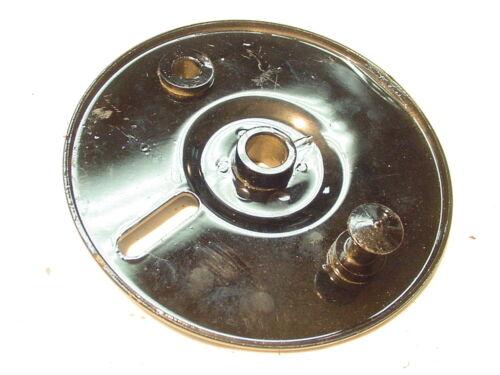 NEW NOS TRIUMPH CUB T20 200CC T15 150CC REAR BRAKE PLATE PART # W990 W-990 37-09