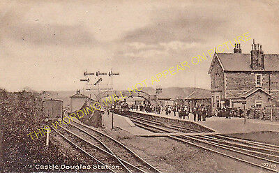 Dalbeattie Castle Douglas Railway Station Photo 1 Bridge of Dee.