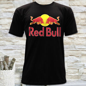 ENERGY-DRINK-RACING-BULL-LOGO-MEN-039-S-BLACK-SHORT-SLEEVE-T-SHIRT-SIZE-S-M-L-XL