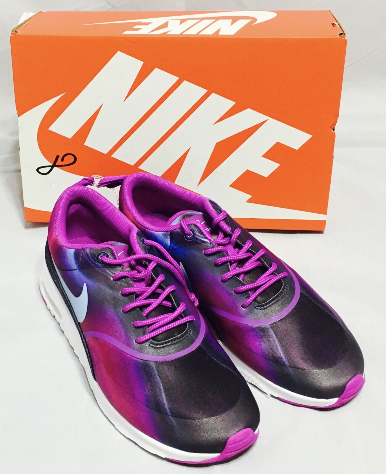 Nike Women Air Max Thea Print Women Nike Shoes 599408 503 Violet Sz 6.5 8 8.5 9 9.5 10 NEW 76d3c6