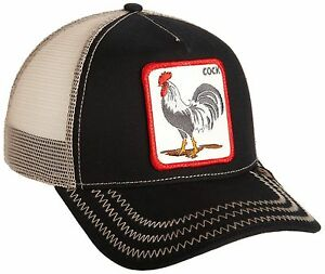 Buy Goorin Bros. Men s Rooster Baseball Black One Size 090625056049 ... c5673dac749