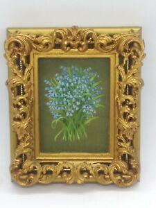 Shelia-Harwood-Parry-Miniature-Painting-Botanical-Landscape-RMS-amp-FRSA-Bluebells