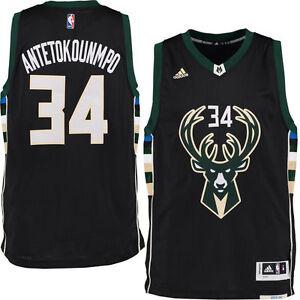 Trwa ładowanie zdjęcia Giannis-Antetokounmpo-Jersey -Milwaukee-Bucks-Black-Alternate-Swingman- fd38b71e5
