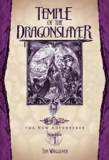 DragonLance The New Adventures: Temple of the Dragonslayer by Tim Waggoner (2004, Paperback)