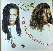 Milli Vanilli - Girl I'm gonna Miss you - Maxi LP - washed - cleaned - L2360