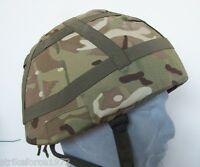 NEW - MoD Issue MTP Multicam Camo Cover for Mk6 / Mk7 Helmet - Size OUTSIZE