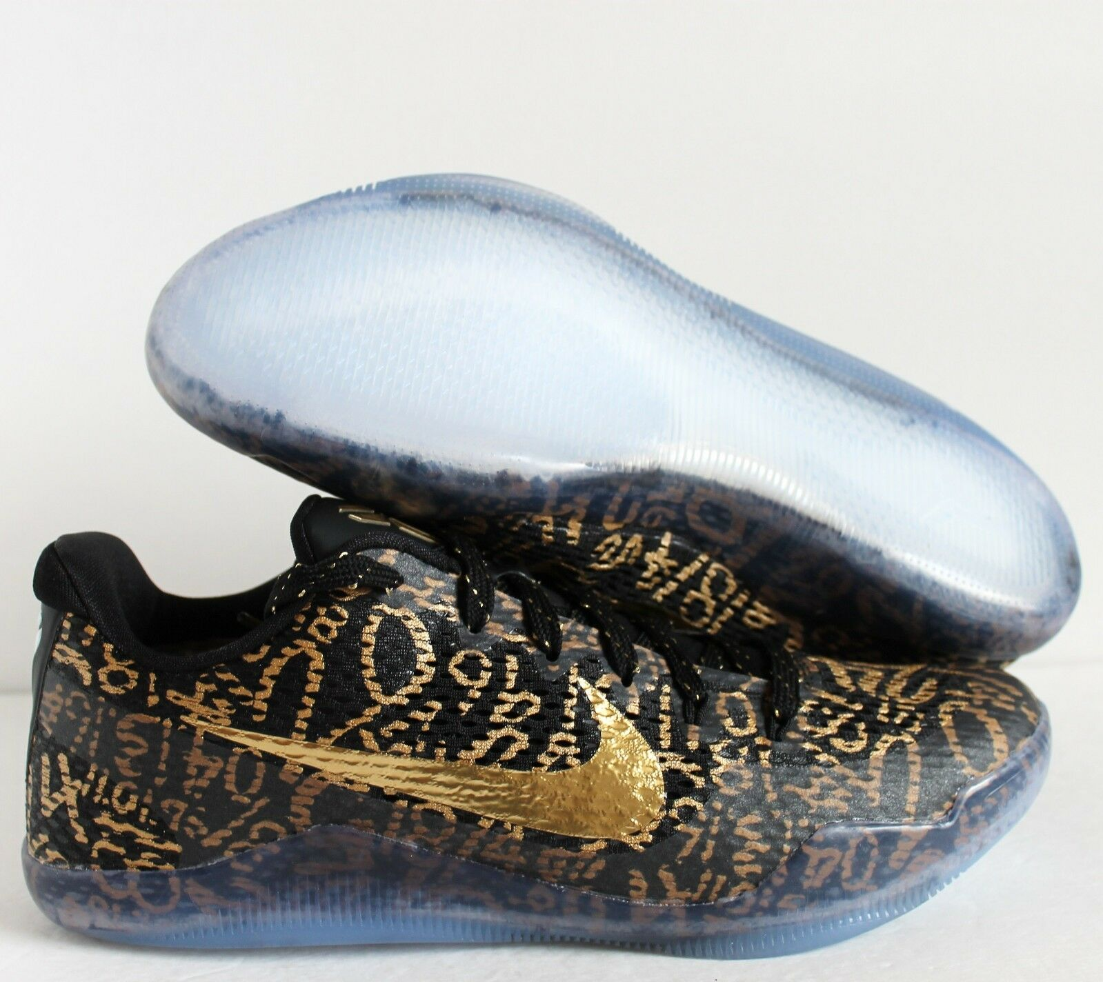 Nike Kobe XI 11 id precios Mamba Negro-Oro-Blanco reducción de precios id estacionales de recortes de precios, beneficios de descuentos 09bb09