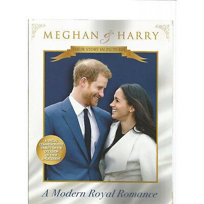 MEGHAN AND HARRY A MODERN ROYAL ROMANCE 2018.