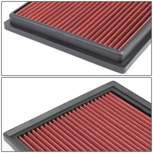 HIGHLANDER 3.5L WASHABLE//DURABLE DROP-IN PANEL AIR FILTER RED FOR 10-16 RX450H