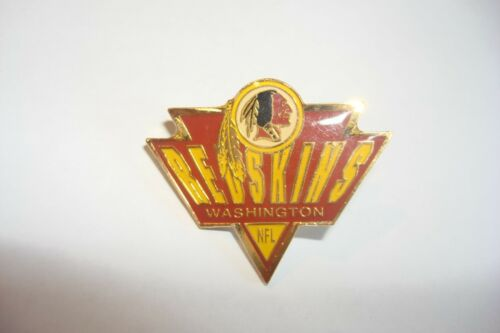 NFL metal pin badge WASHINGTON REDSKINS  new SPIKE  american football
