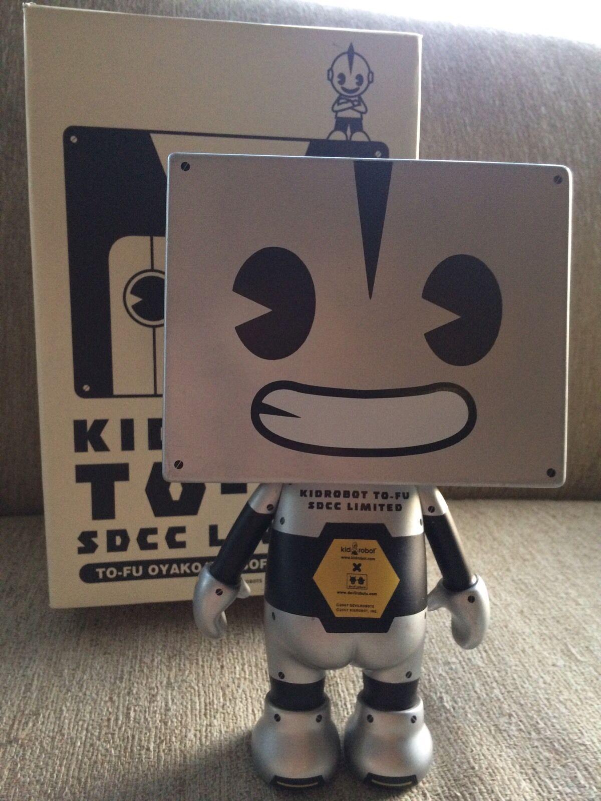 Kidrobot X Devilrobotar To -Fu Oyako 2007 Comic Con Exklusiv LE200 Tofu