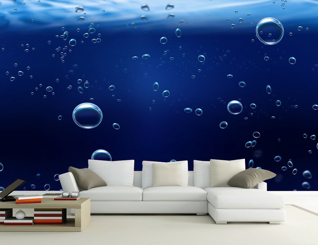 3D Bubble Ozean 73 Tapete Wandgemälde Tapete Tapeten Bild Familie DE | Modern Und Elegant In Der Mode  | Deutschland Outlet  | Online-Exportgeschäft