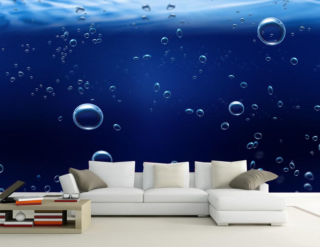 3D Bubble Ozean 73 Tapete Wandgemälde Tapete Tapeten Bild Familie DE